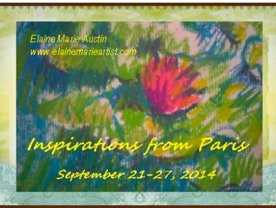 My exhibit postcard
