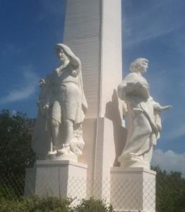 Pioneer statue